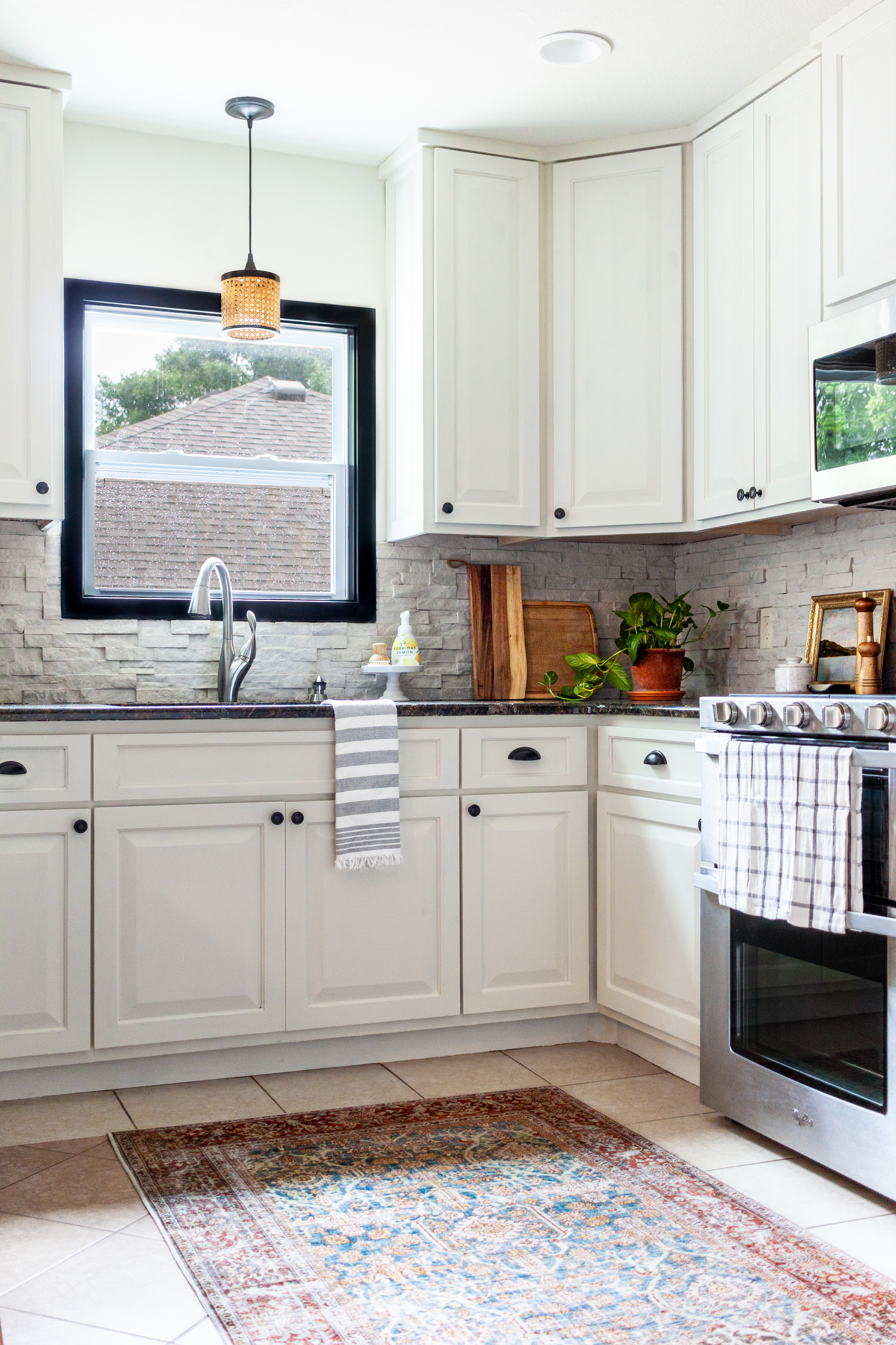 Briee Sink and Stove
